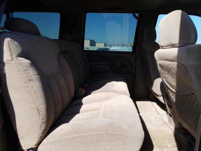 1999 Chevrolet Suburban K Beige  - back view