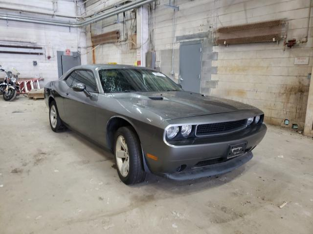 2011 Dodge Challenger Gray  - front right view