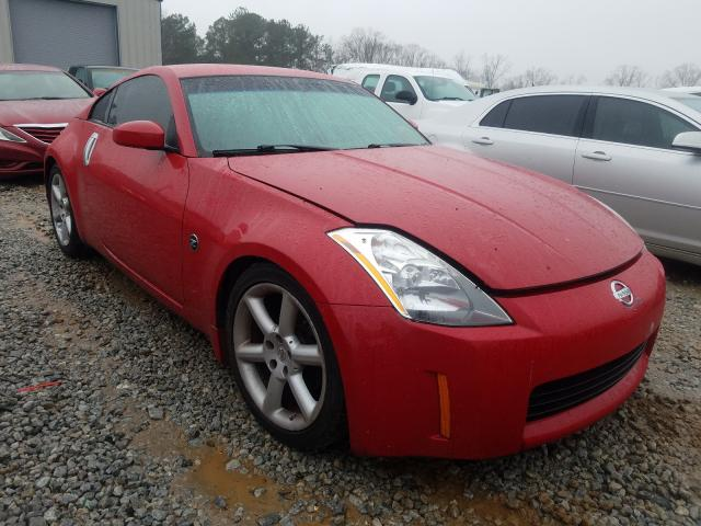 2003 Niss 350z Coupe Red  - front right view
