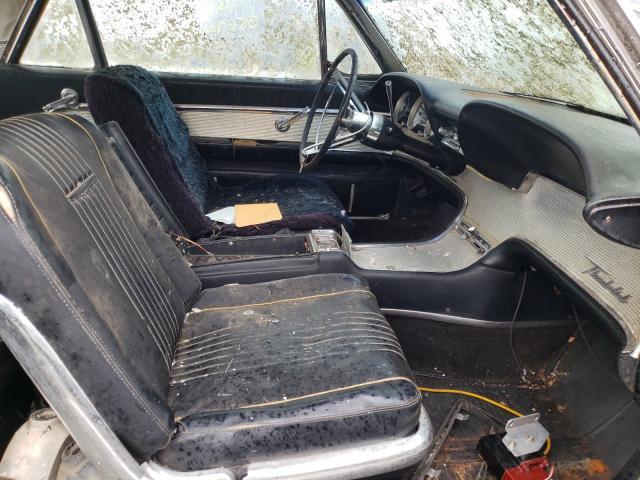 1963 Ford Thunderbir Black  - interior - front
