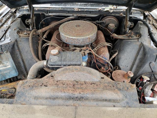 1963 Ford Thunderbir Black  - engine