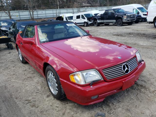 1995 Mercedes Benz Sl 500 Red  - front right view