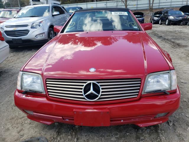 1995 Mercedes Benz Sl 500 Red