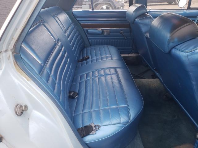 1972 Dodge Dart Blue  - back view