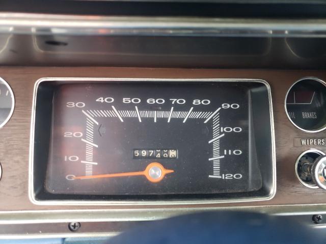 1972 Dodge Dart Blue  - odometer