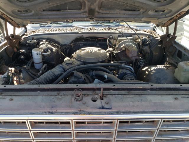 1978 Gmc C/k/r1500 Tan  - engine