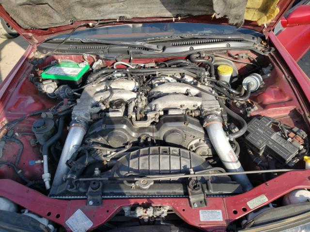 1990 Niss 300zx Mroon  - engine
