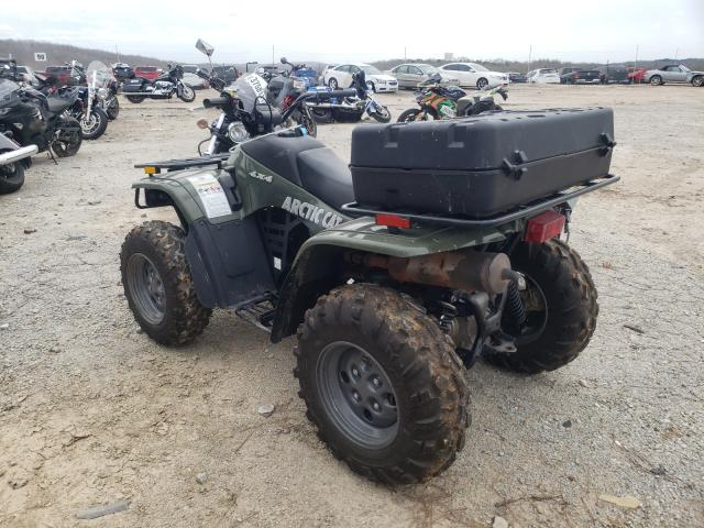2005 Arti Atv Green  - rear left view