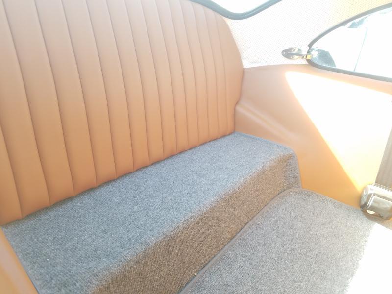 1974 Volkswagen Beetle Gray  - back view