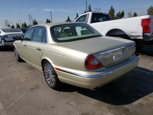 2006 Jaguar Xj8 Beige  - rear left view
