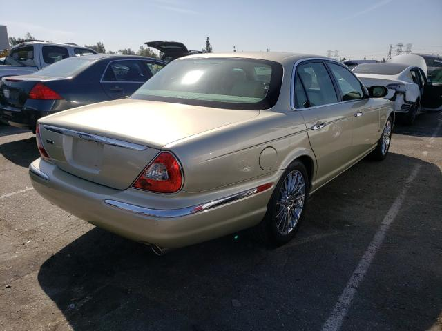 2006 Jaguar Xj8 Beige  - rear right view