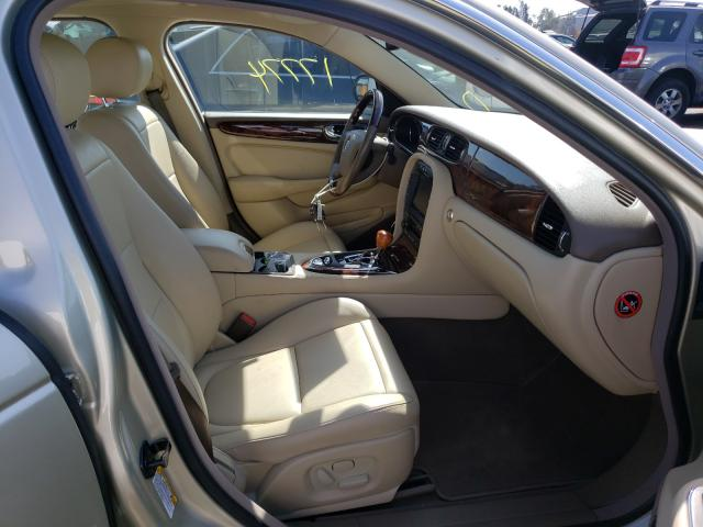2006 Jaguar Xj8 Beige  - interior - front