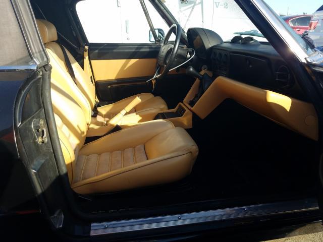 1991 Alfa Spider Green  - interior - front