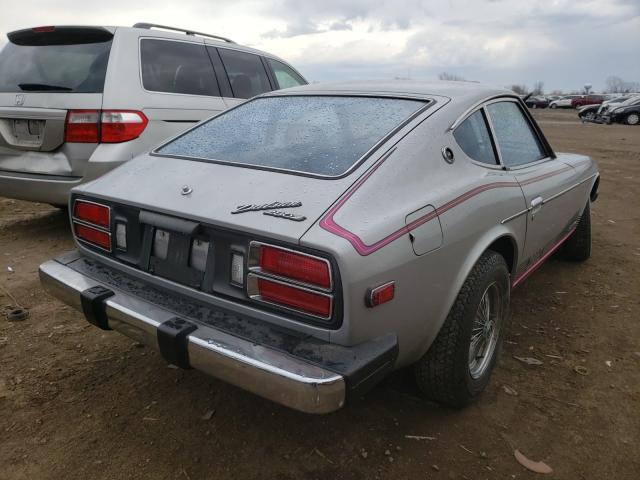 1976 Datsun 280zx Silver  - rear right view