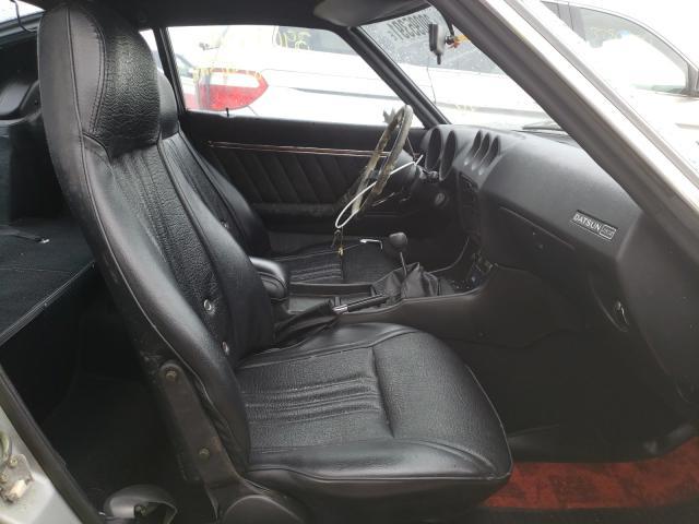 1976 Datsun 280zx Silver  - interior - front