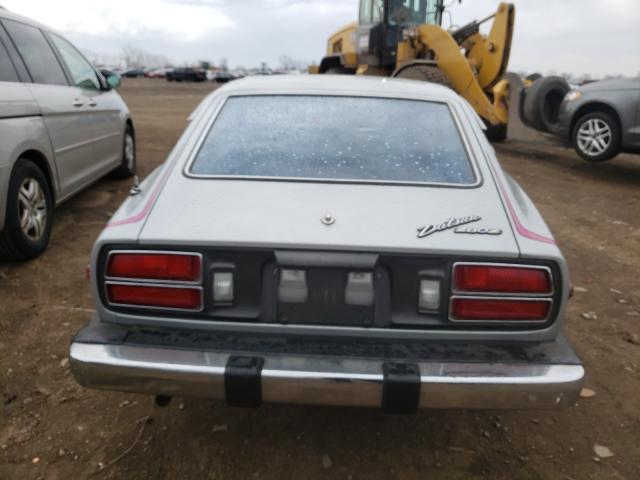 1976 Datsun 280zx Silver  - back view