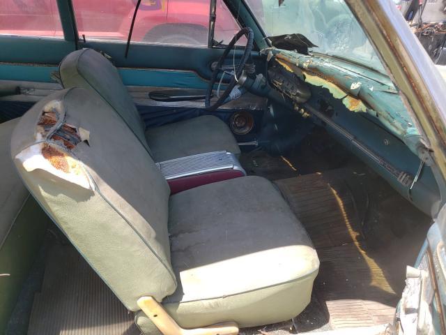 1963 Merc Comet Green  - interior - front