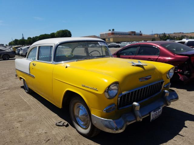 1955 Chevrolet Belaire 2tone  - front right view
