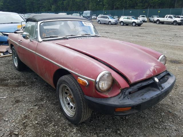 1979 Mg Mgb Conver Red  - front right view