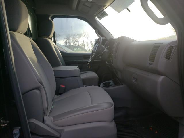2012 Niss Nv 2500 Black  - interior - front