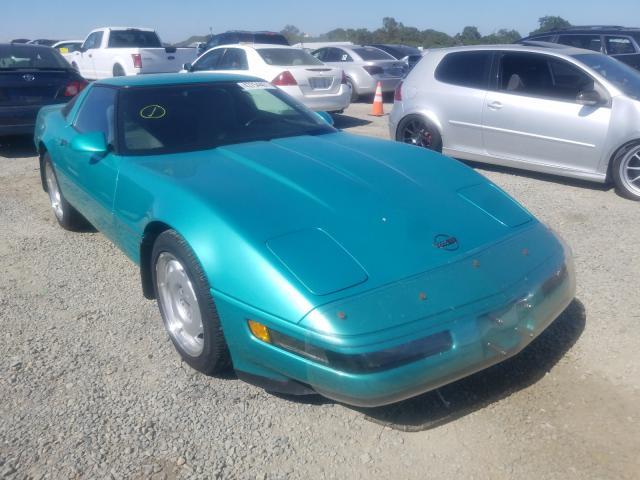 1991 Chevrolet Corvette Turq  - front right view