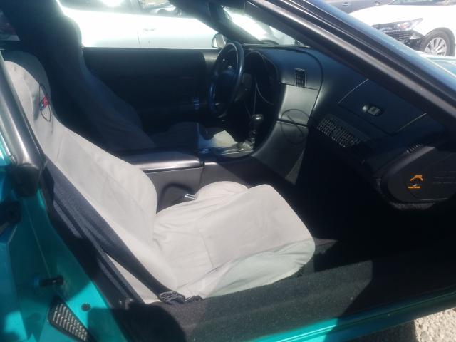 1991 Chevrolet Corvette Turq  - interior - front