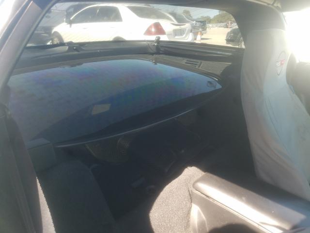 1991 Chevrolet Corvette Turq  - back view
