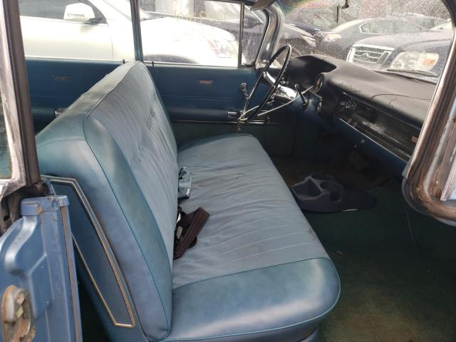 1960 Cadillac Deville Blue  - interior - front
