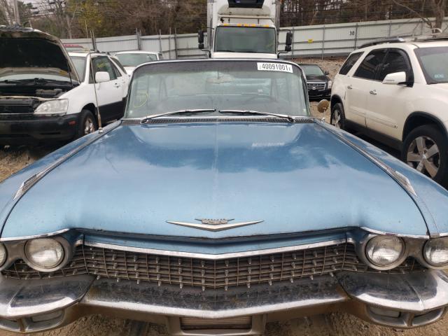 1960 Cadillac Deville Blue