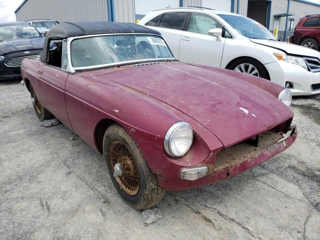 1963 Mgb Roadster Pink  - front right view