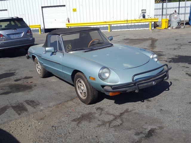1982 Alfa Veloce 200 Teal  - front right view