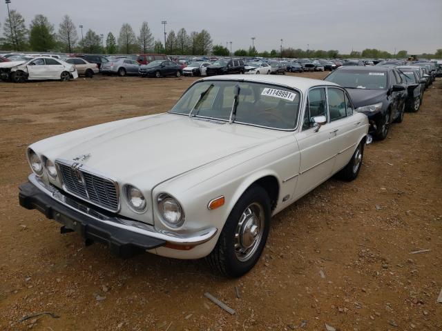1983 Jaguar Xj Cream  - front left view