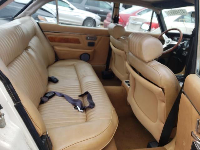 1983 Jaguar Xj Cream  - back view