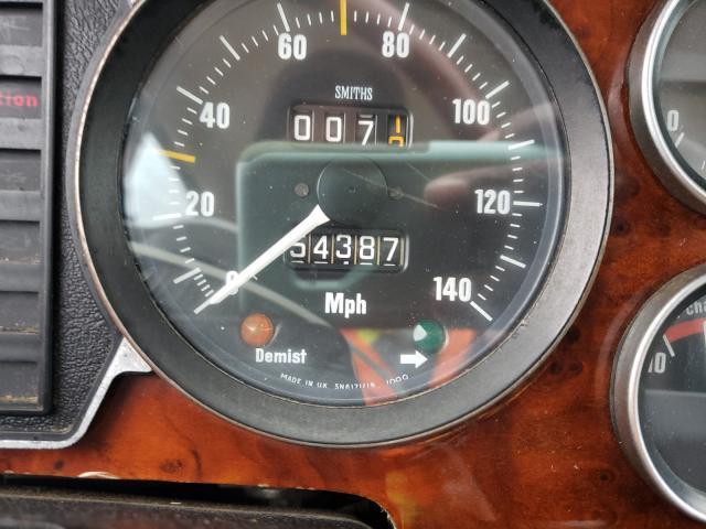 1983 Jaguar Xj Cream  - odometer