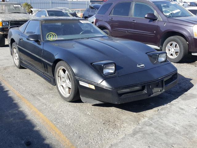 1987 Chevrolet Corvette Black  - front right view
