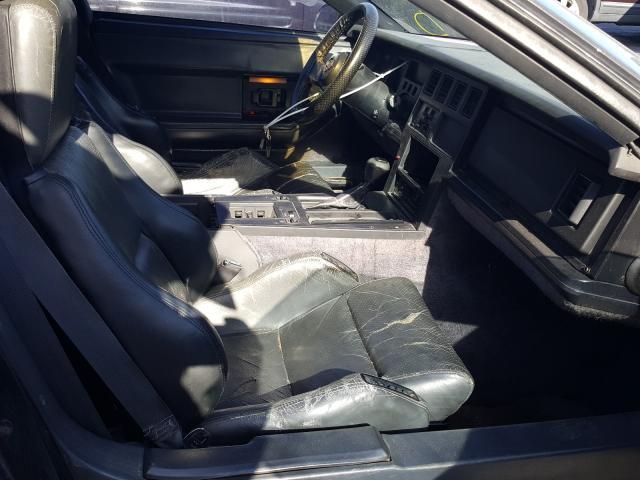 1987 Chevrolet Corvette Black  - interior - front