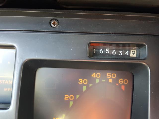 1987 Chevrolet Corvette Black  - odometer