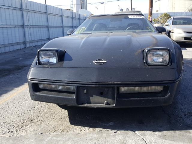 1987 Chevrolet Corvette Black