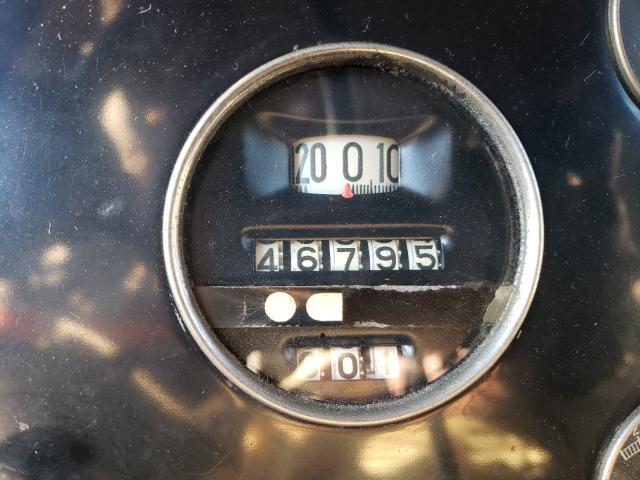 1930 Cadillac Lasalle 2tone  - odometer