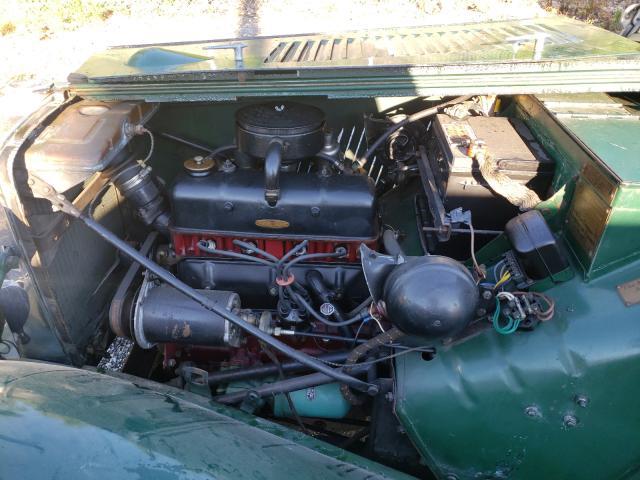 1953 Mg Roadster Green  - engine