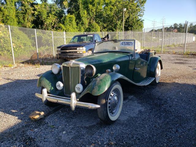 1953 Mg Roadster Green