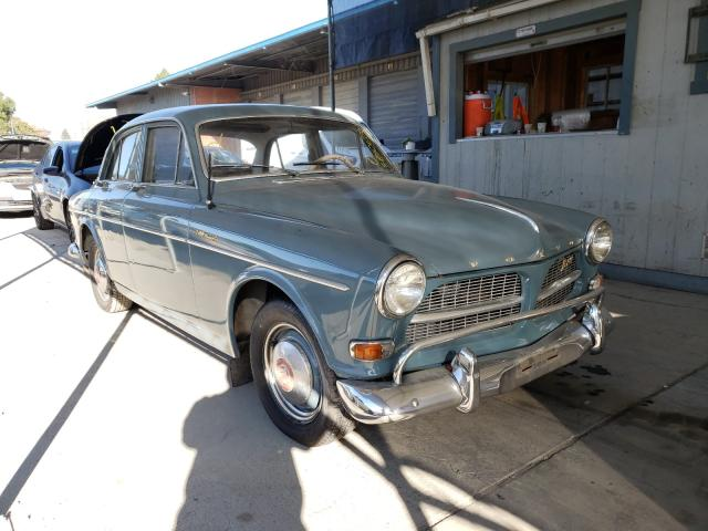 1965 Volvo 122s Gray  - front right view