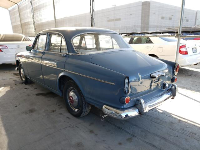 1965 Volvo 122s Gray  - rear left view