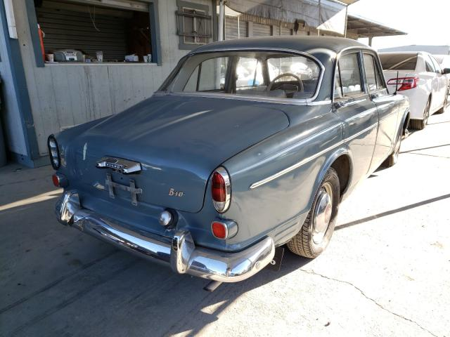 1965 Volvo 122s Gray  - rear right view