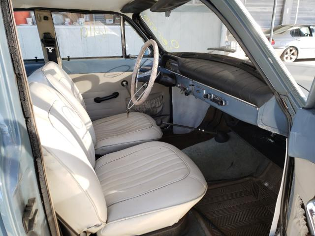 1965 Volvo 122s Gray  - interior - front