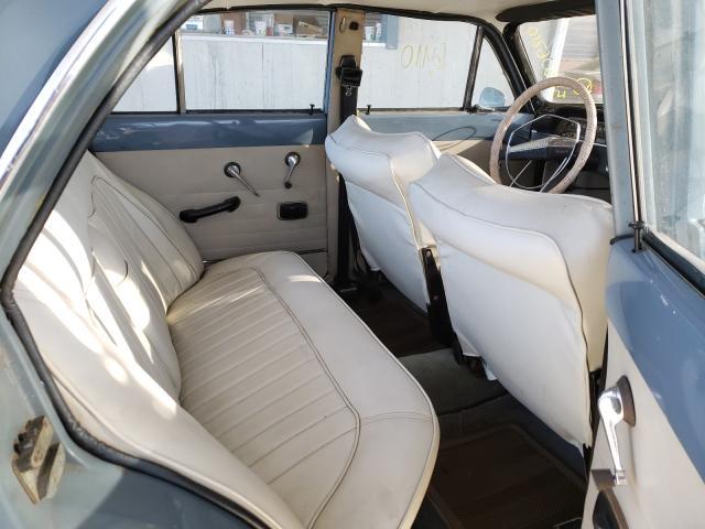 1965 Volvo 122s Gray  - back view