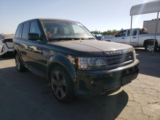 2011 Land Range Rover Black  - front right view