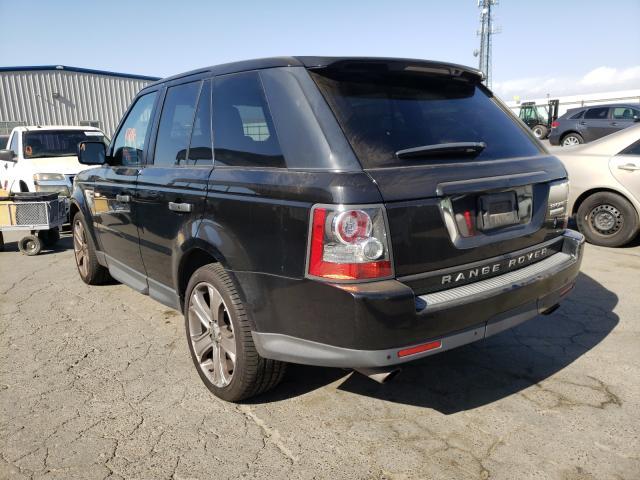 2011 Land Range Rover Black  - rear left view