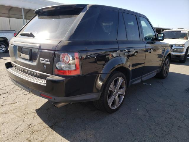 2011 Land Range Rover Black  - rear right view