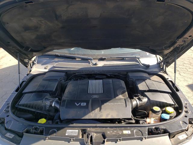 2011 Land Range Rover Black  - engine
